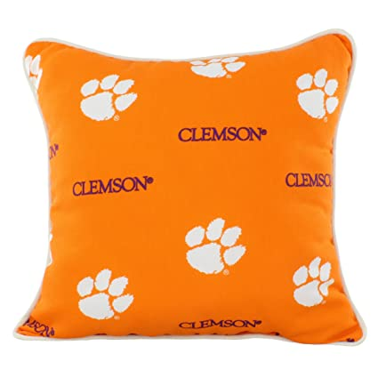 Amazon College Covers CLEODP Clemson Tigers Outdoor Decorative Simple College Decorative Pillows