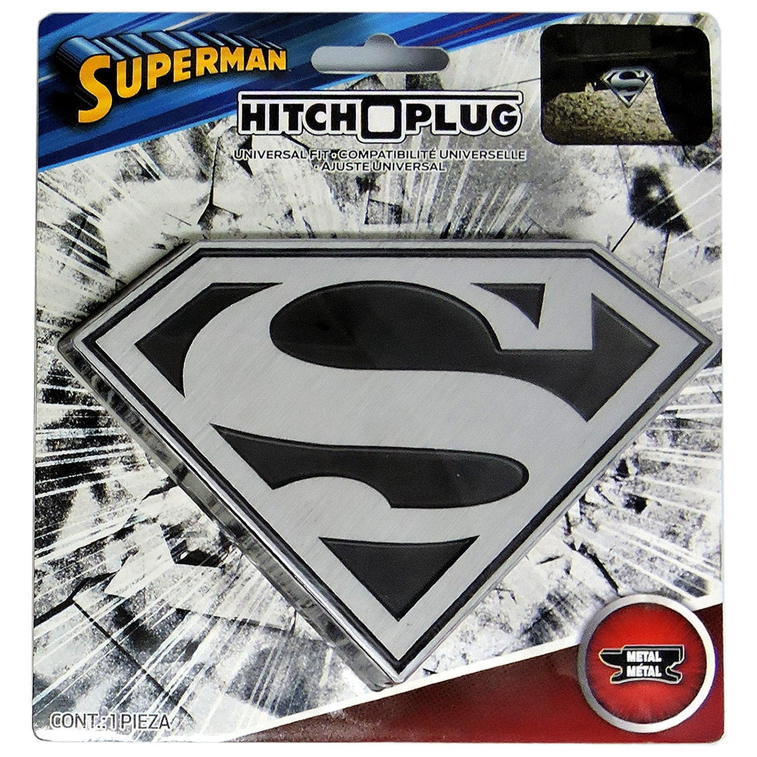 Superman Hitch Covers.