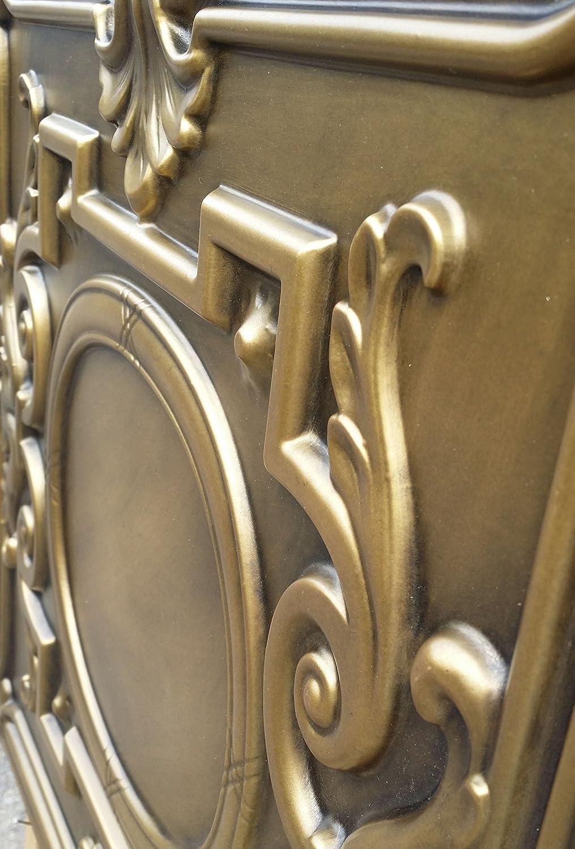 Peinture laqu/ée PL15/en Art Dalles de plafond en relief Cafe Pub Shop artisic Panneaux muraux d/écoratifs 10pieces//Lot frais