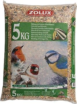 Zolux. Graines Jardin kg. 5 Aliment pour Oiseaux, Multicolore ... ab0959770cbb