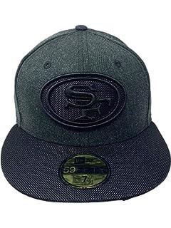wholesale dealer a637d 298e2 New Era San Francisco 49ers 59Fifty Fitted Hat Official NFL Flat Brim Cap  5950