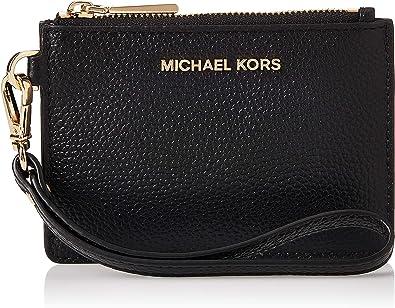 Amazon Com Michael Michael Kors Mercer Small Coin Purse Black One Size Shoes