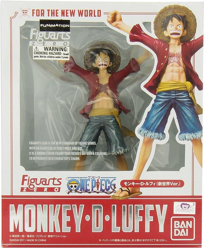 Bandai Monkey D. Luffy (New World Version) One Piece - Figuarts Zero: Amazon.es: Juguetes y juegos