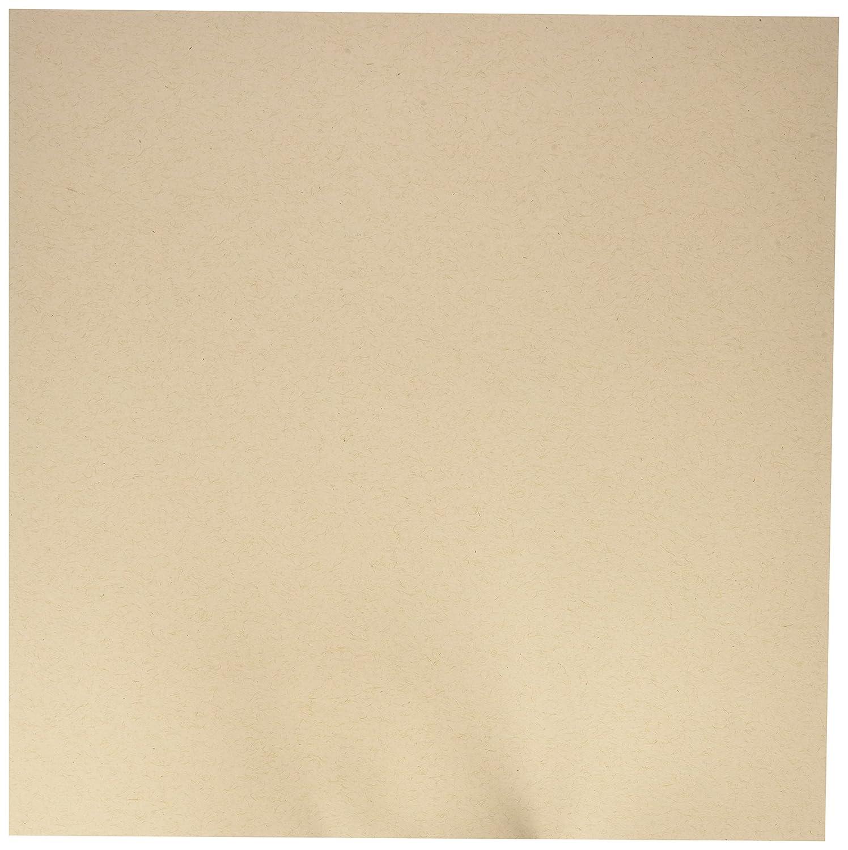 My Colors 210003 Classic Cardstock Bundle (18 Pack), 12 X 12, Kraft 12 X 12