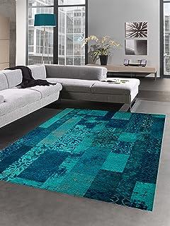 Tapis contemporain design Tapis Oriental salon tapis avec motif en ...