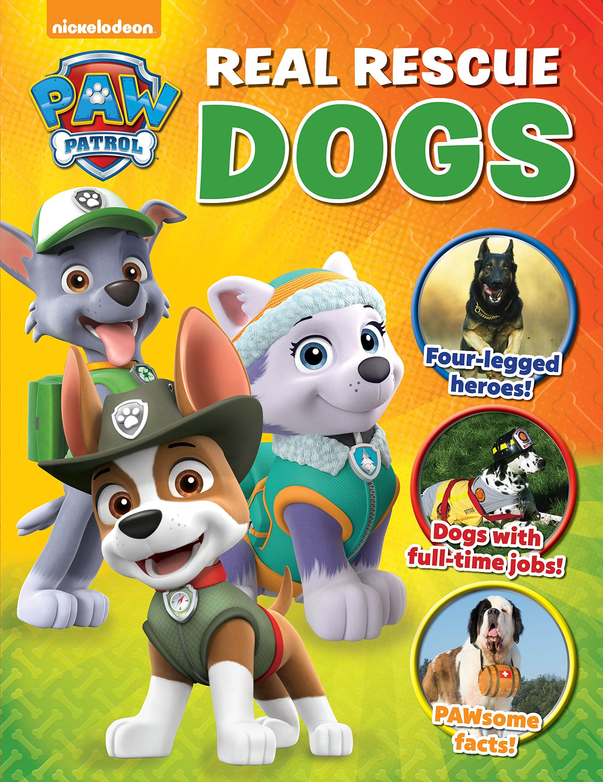 Paw Patrol Real Rescue Dogs Show Tell Me Media Lab Books