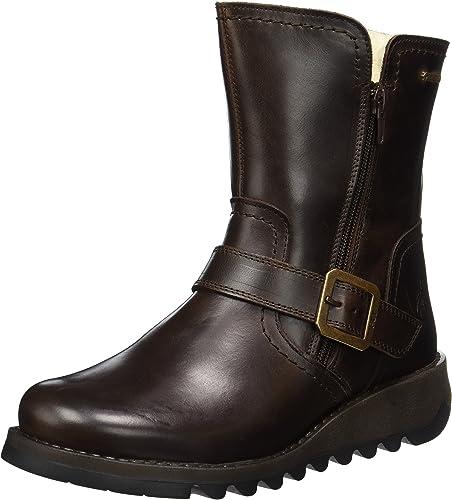 Fly London Seku GTX Womens Ladies Waterproof Wedge Ankle Chelsea Boots Size 4-8