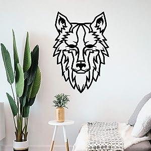 Tamengi Wolf Metal Wall Art, Metal Wall Decor, Metal Wall Art, Wildlife Decor, Housewarming Gift, Wolf Home Decor, Wildlife Wall Art, Nursery Decor