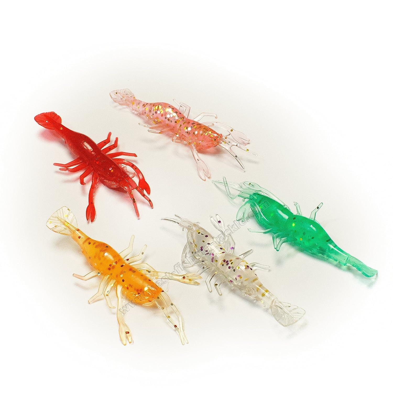 Sea Fishing Soft Lures Crayfish Lobster Cod Sea Jig Head Pike Perch Cod Drop Shot