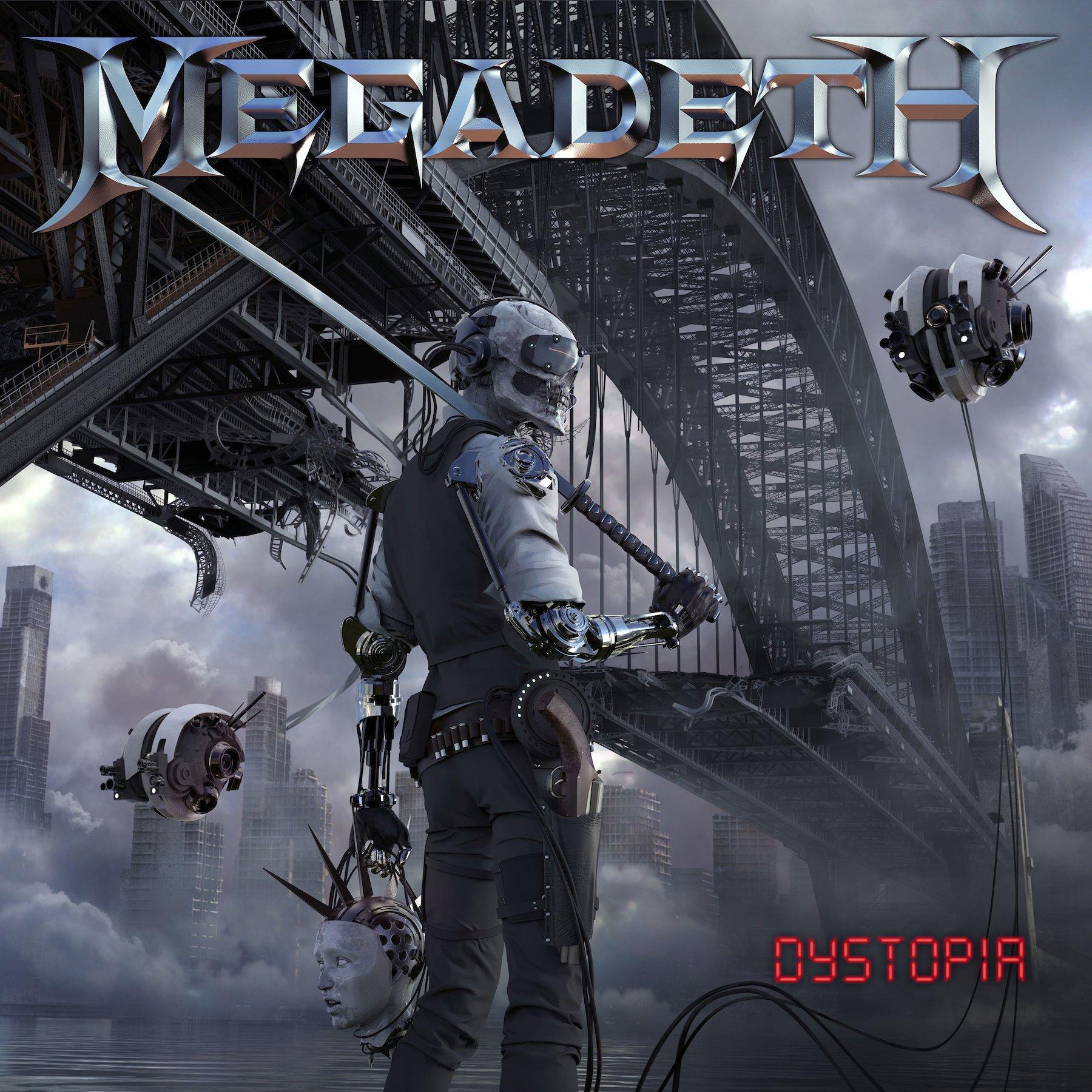 CD : Megadeth - Dystopia