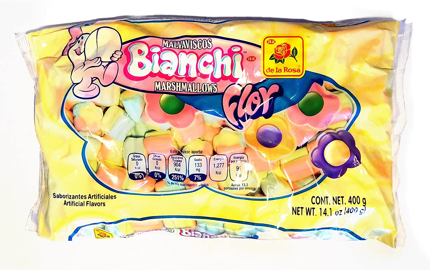 Amazon.com : Bianchi Figure Shape Marshmallows (Mega) : Grocery & Gourmet Food