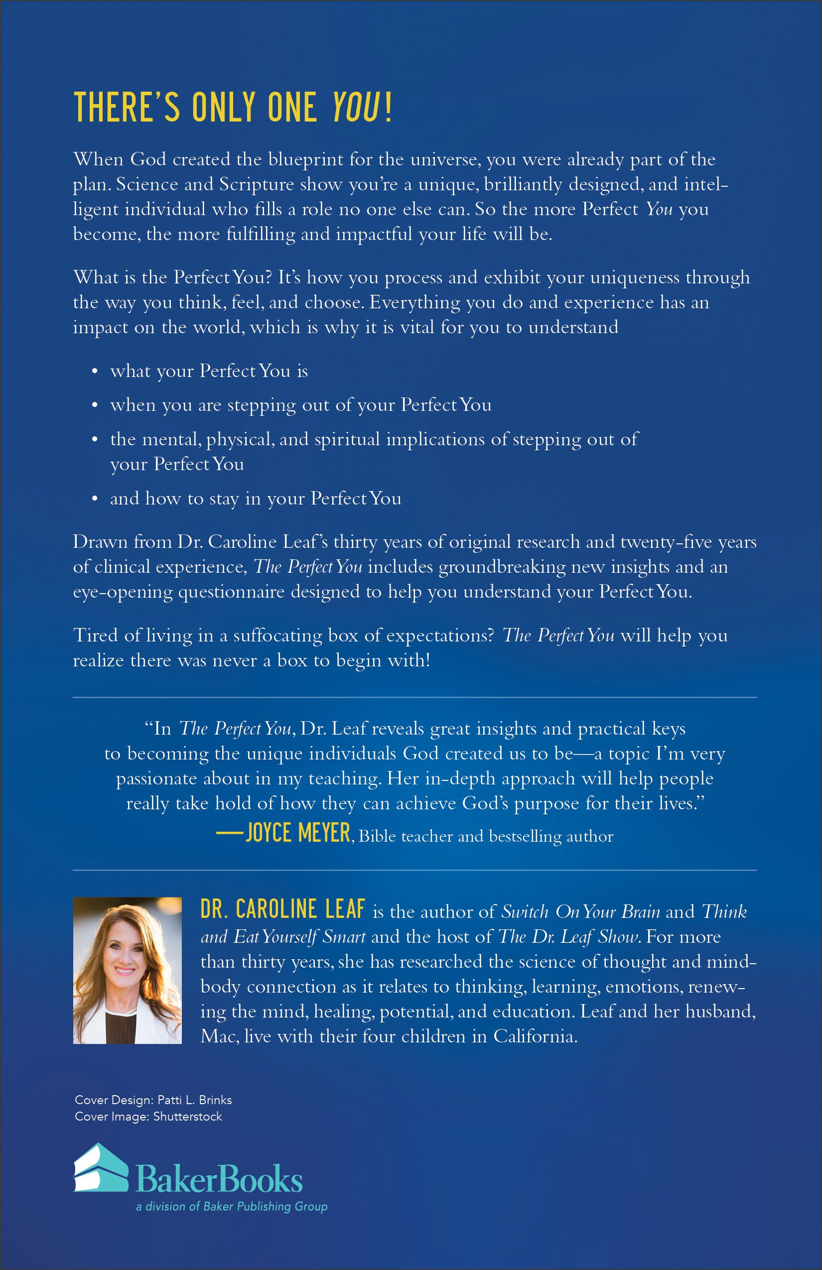 The Perfect You A Blueprint for Identity Amazon Dr Caroline