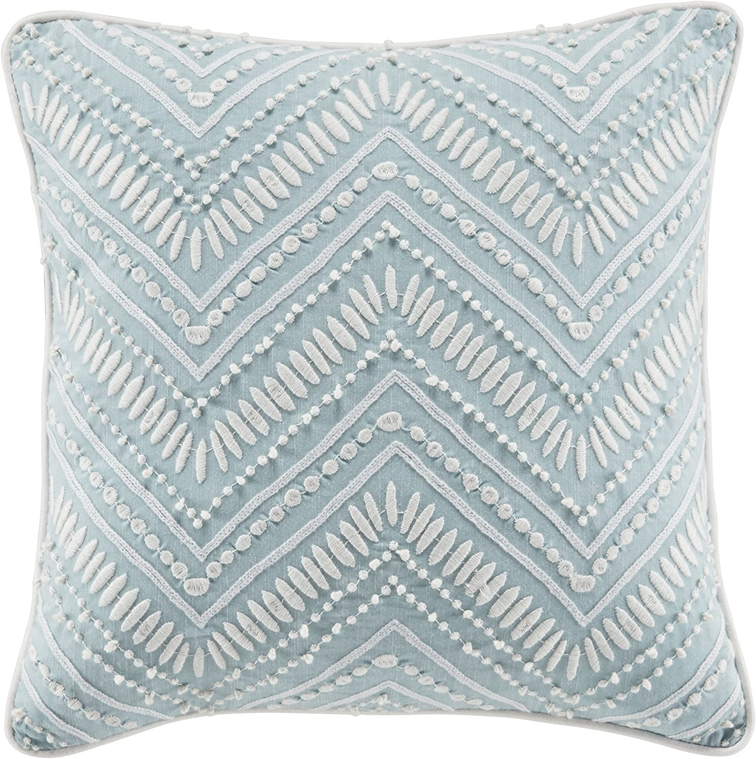 Croscill Willa Decorative Pillow Soft Aqua Home Kitchen