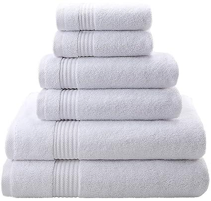 Juego de toallas de lujo superior, para hotel y spa, 100 % algodón turco