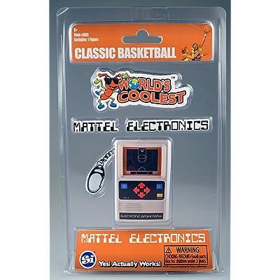 World's Coolest Mattel Electronic Games - Basketball Handheld Games: Worlds Coolest: Toys & Games