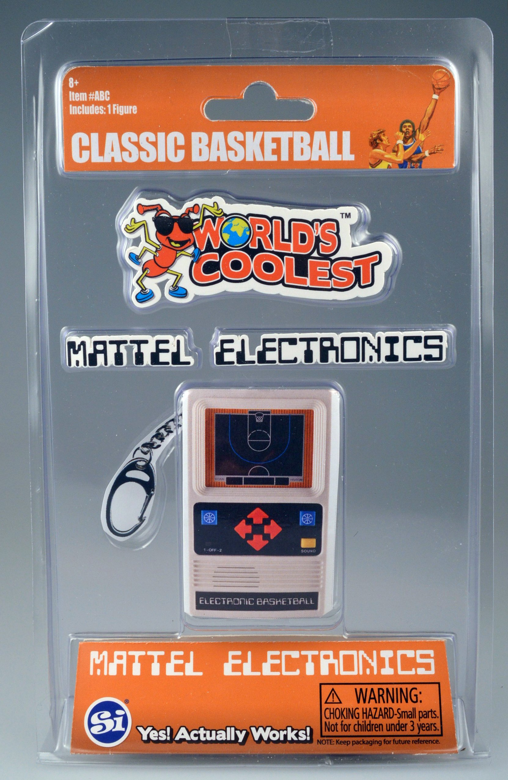World's Largest Bubble World's Coolest Mattel Electronic Games-Basketball Handheld by World's Largest Bubble