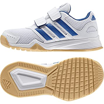 ADIDAS KINDER JUNGEN Sportschuhe Hallen Schuhe Sneaker