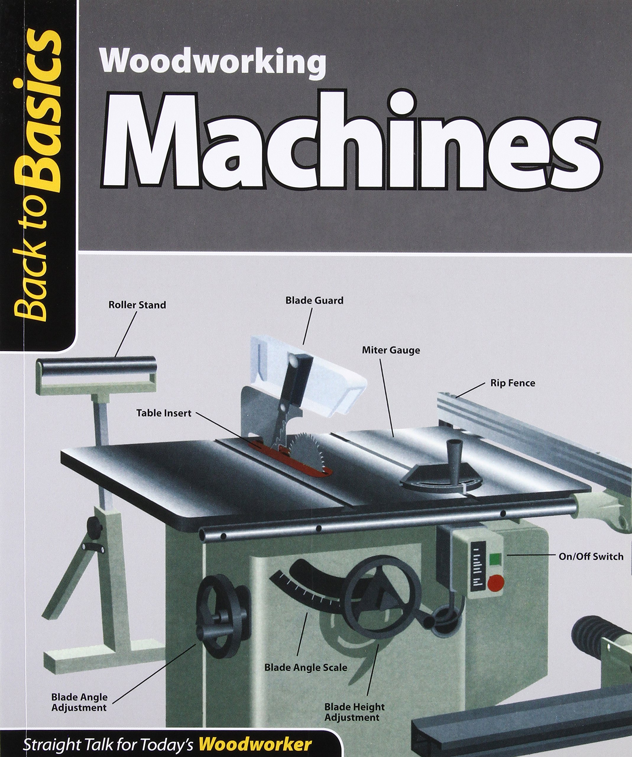 Woodworking Machines (Back to Basics): Straight Talk for Today's Woodworker