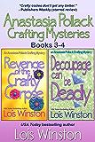 Anastasia Pollack Crafting Mysteries Boxed Set: Books 3-4