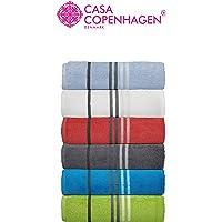 Casa Copenhagen - Cotton Exotic 2 Pcs Large Bath Towel (75x150cm) Colour