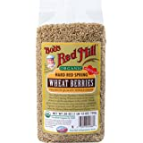 Bob's Red Mill Organic Hard Red Spring Wheat, 28 Ounce (Pack of 4)