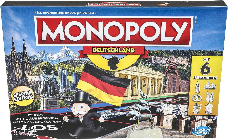 Hasbro Gaming- Monopoly Germany - Juego Familiar (E1553100): Amazon.es: Juguetes y juegos