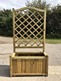 High Quality Garden Trough Planter with Trellis – Half Price Sale !!!