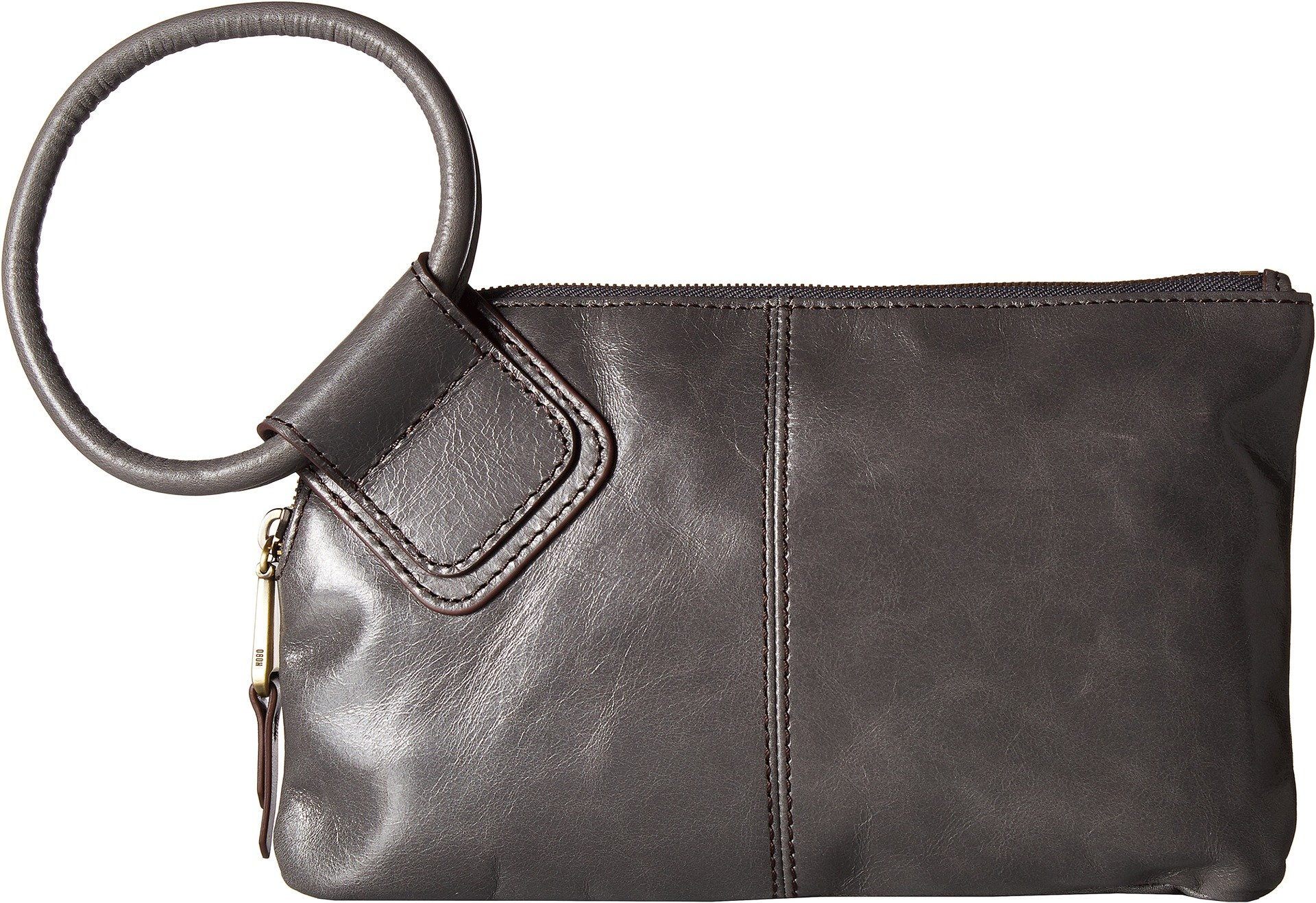 Hobo Women's Leather Sable Wristlet Clutch Wallet (Graphite)