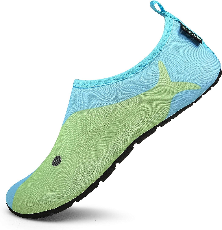 SAGUARO Chaussures Aquatiques Chaussettes de deau Enfants