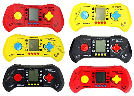 Buy Perpetual Bliss Pack Of 6 Hand Video Game For Kids Return Gifts Birthday Party Online At Low Prices In India