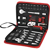 Hyper Tough Ht 51-piece Auto And Motorcycle Tool Kit