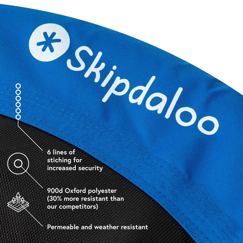 Skipdaloo Saucer Tree Swing for Outside - 40'' Hanging Round Swing for Kids, Easy Install, Steel Frame. by Skipdaloo (Image #2)