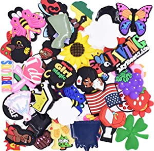 Slime Charms 50Pcs Random Mixed Assorted Flatback Resin Embellishments Supplies for DIY Crafts Scrapbooking Hair Clip Decorations
