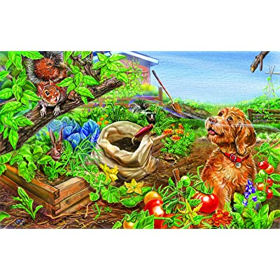 Wild Thing 100 pc Jigsaw Puzzle by SunsOut: Toys & Games