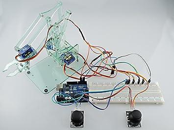 [Sintron] Mini industrial de zona de robots industriales del brazo Kit, mecánico del