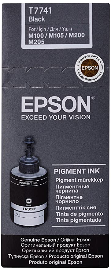 Epson T7741 Pigment Black ink bottle 140ml - Cartucho de ...