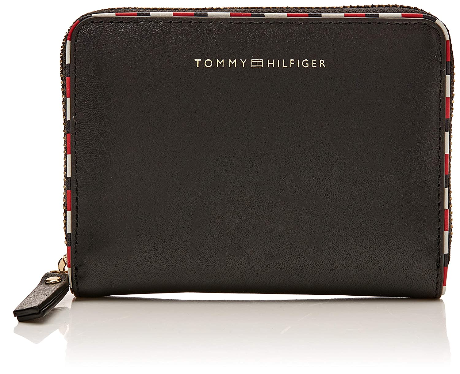 Tommy Hilfiger Classic Leather Cmpct Za Wlt - Carteras Mujer