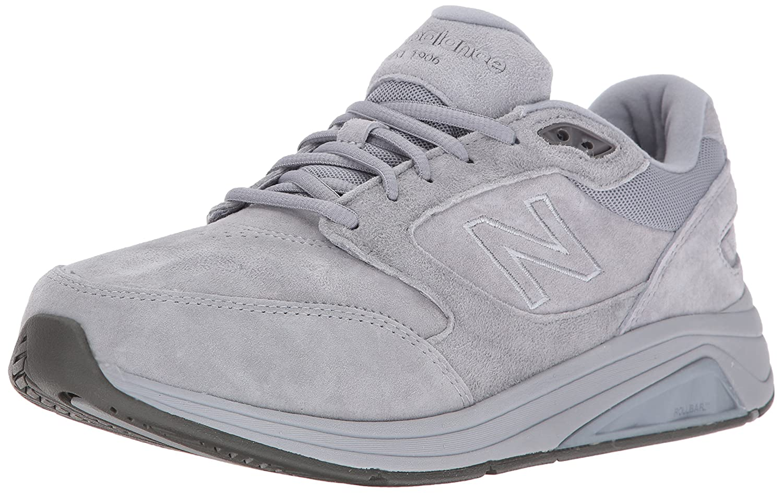 New Balance Men's MW928VK Walking Shoe 10.5 4E US|Grey/White