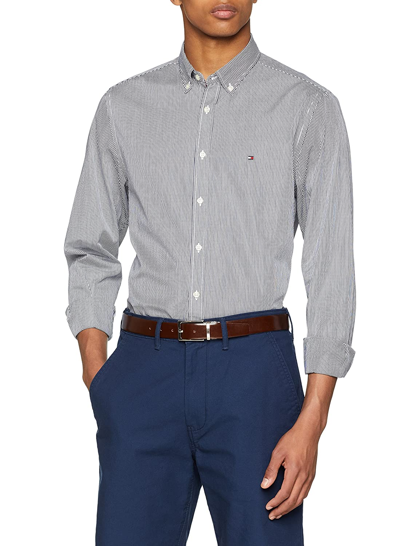 Tommy Hilfiger Core Stripe Shirt Camisa para Hombre