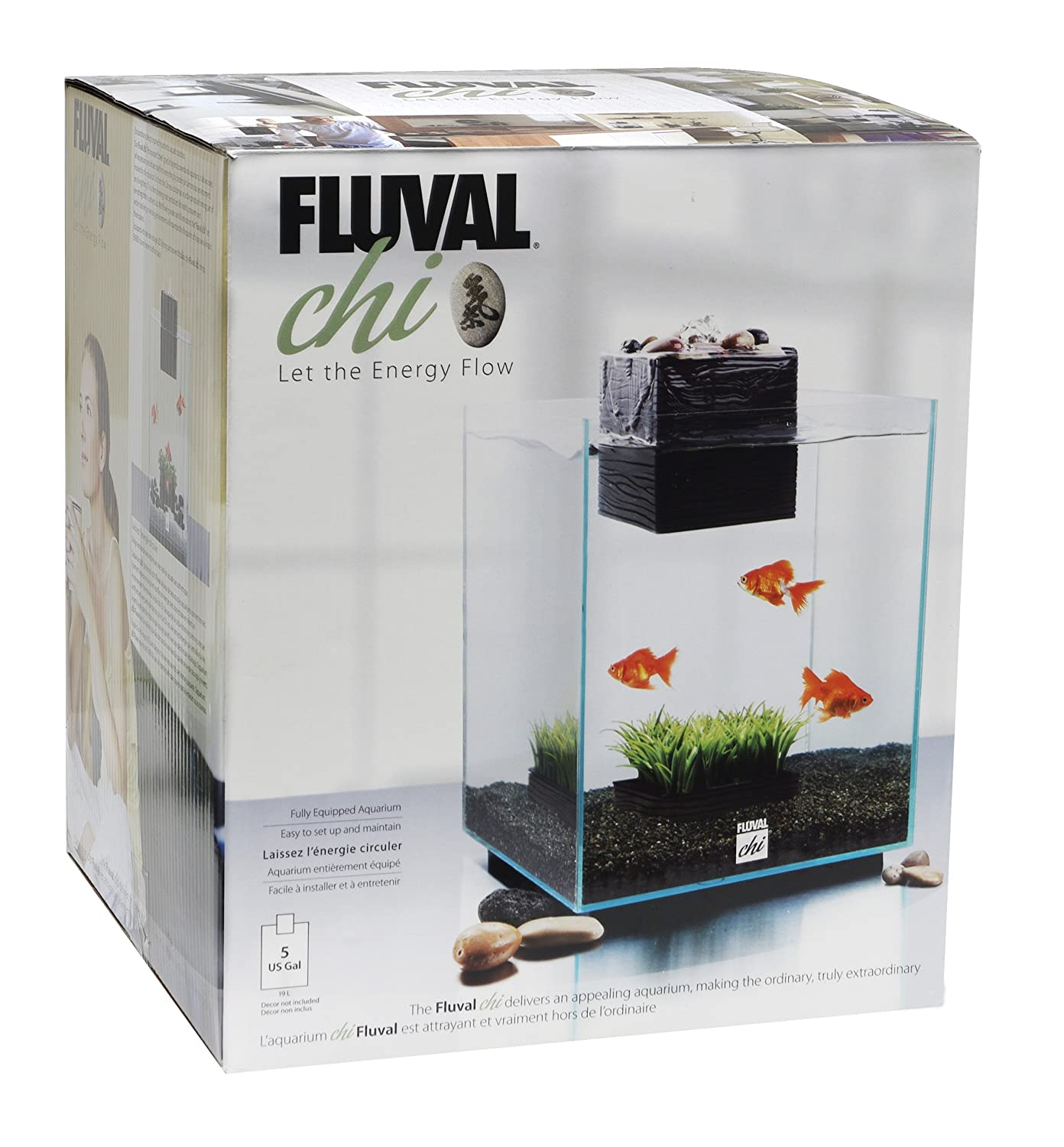 Fluval Chi Aquarium 19L: Amazon.co.uk: Pet Supplies