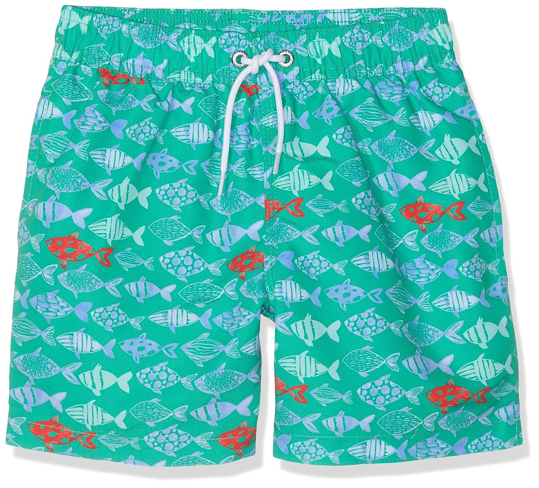 Hackett London Boy's Fish Print Swim Shorts