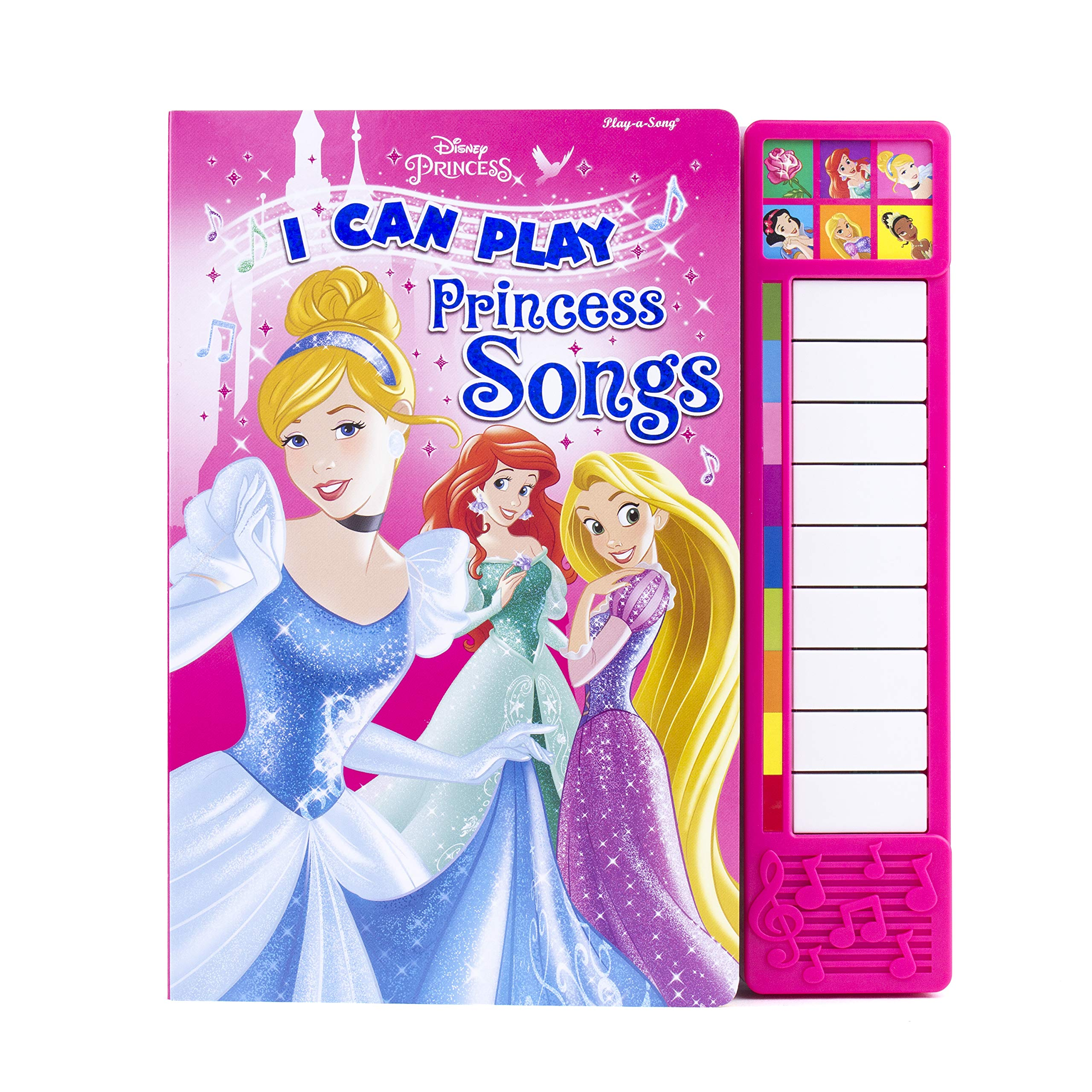 Disney THE PRINCESSES Craft Buttons 1ST CLASS PP Ariel Cinderella Belle Rapunzel