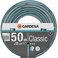 "GARDENA Classic slang 13 mm (1/2"") 50 m: Universele kruisgeweven tuinslang, 22 bar barstdruk, druk- en uv-bestendig…"