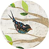 Thirstystone Stoneware Coaster Set, Birds in Spring III