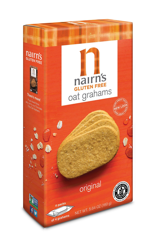Nairn's Gluten Free Oat Grahams, Original, 5.64oz
