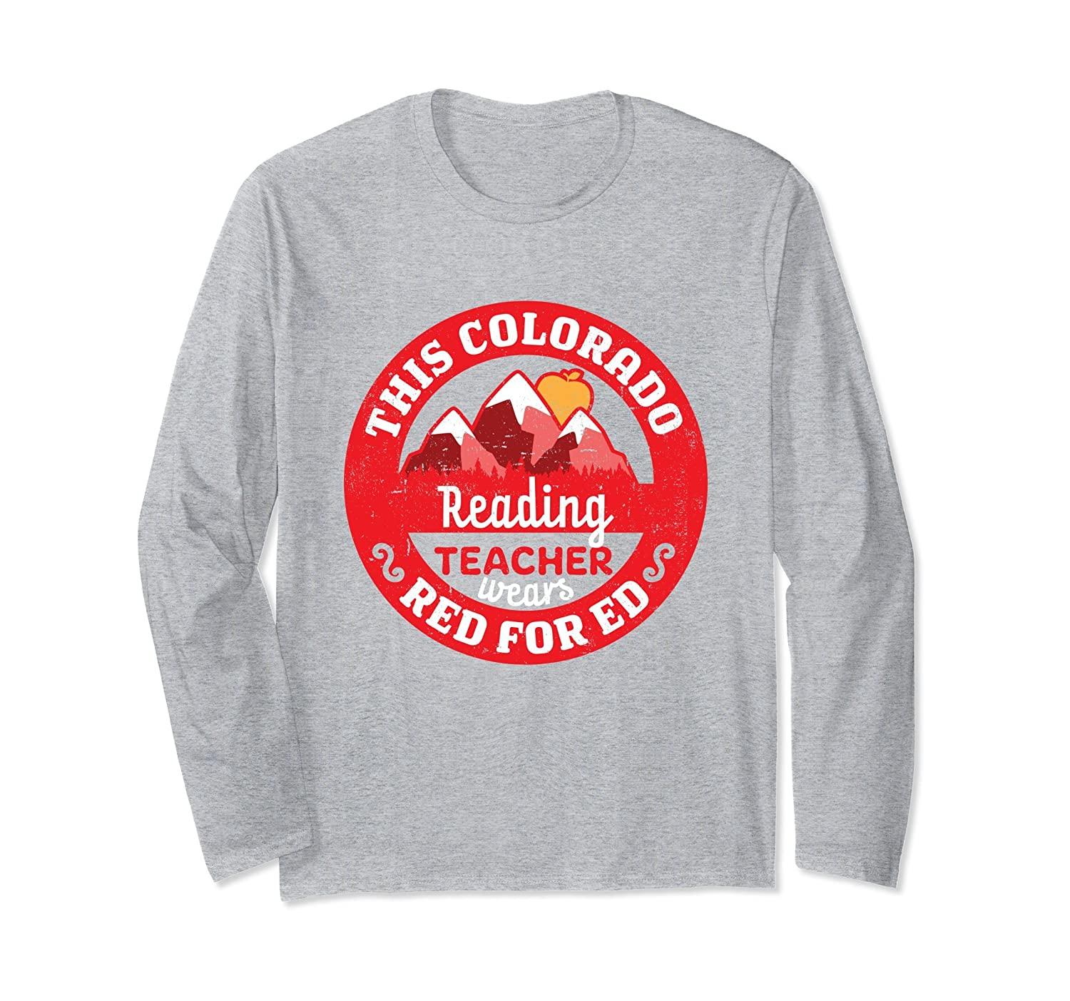 ca814dacecb2 Colorado Red For Ed Long Sleeve Shirt Reading Teacher-prm – Paramatee