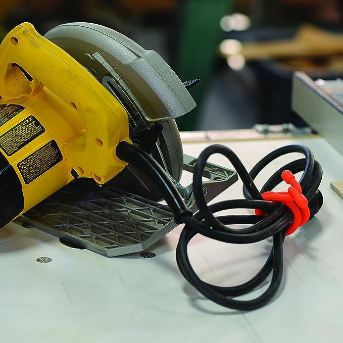 Nite Ize Original Gear Tie, Reusable Rubber Twist Tie, 18-Inch, Bright Orange, 2 Pack, Made in the USA - Ratchet Tie Downs - Amazon.com