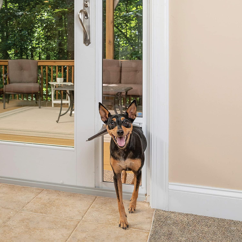 PetSafe  Aluminum Patio Panel Sliding Glass Pet Door $114.95 Coupon