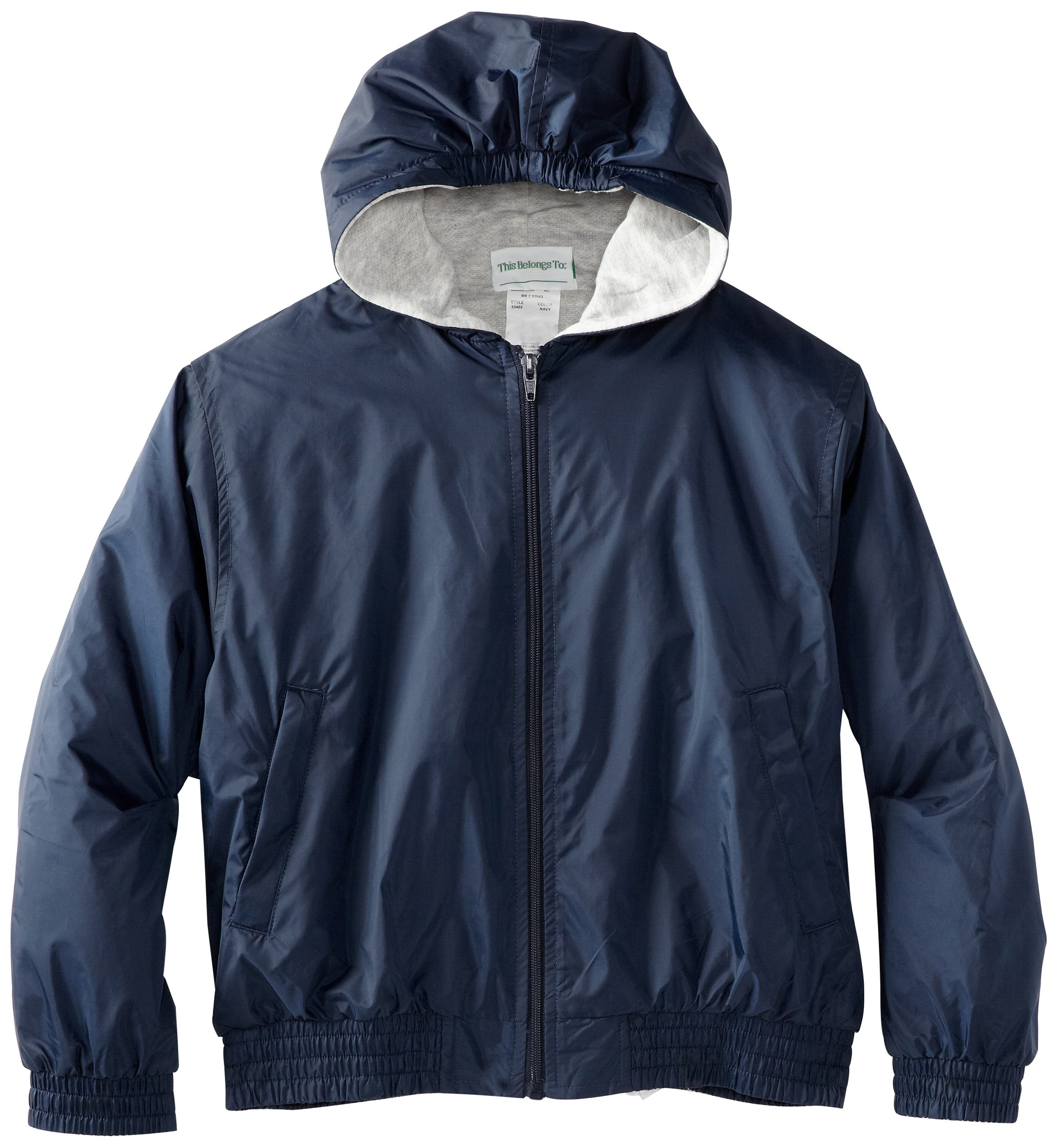 CLASSROOM Little Boys' Uniform Lined Bomber Jacket, Navy, Small