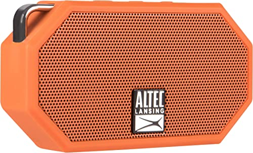 Altec Lansing IMW257-ORG Mini H2O Wireless Bluetooth Waterproof Speaker